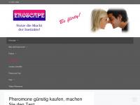 eroscape.de Webseite Vorschau