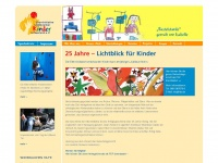 kinderkrebshilfe-saar.de Webseite Vorschau