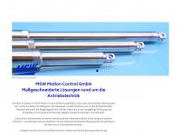 msw-motion.de Webseite Vorschau