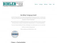 Bihler-fertigung.de