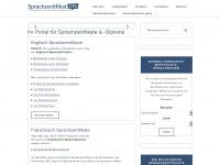 sprachzertifikat.org