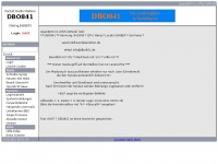 dbo841.de Webseite Vorschau