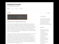 blechplatten.net Webseite Vorschau