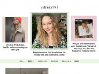 amazedmag.de Webseite Vorschau