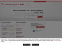 physiotherapiepraxis.biz Webseite Vorschau