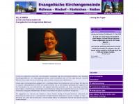 kirchengemeinde-muellrose.de Webseite Vorschau