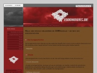 1500hours.de Webseite Vorschau
