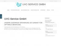 uvc-service.ch Webseite Vorschau