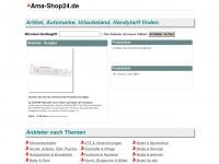 ama-shop24.de Webseite Vorschau