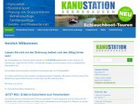 kanu-seershausen.de Webseite Vorschau
