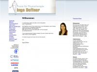 physio-deffner.de Webseite Vorschau