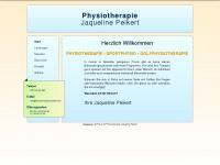 physiotherapie-peikert.de Webseite Vorschau
