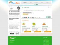4teamstore.com Webseite Vorschau
