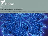 trifloris.ch Webseite Vorschau