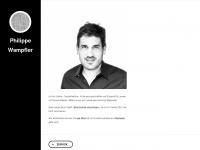 philippe-wampfler.ch Webseite Vorschau