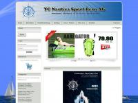 ycnautica.ch Webseite Vorschau