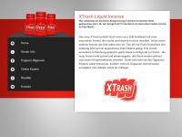 xtrash.eu Webseite Vorschau