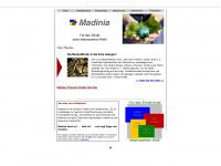 madinia.de Webseite Vorschau