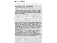 zuercher-appell.ch Thumbnail