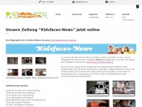 kidsfaces.de Webseite Vorschau