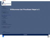 phoolbaari-nepal.de Webseite Vorschau