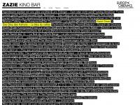kino-zazie.de Webseite Vorschau