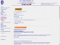 locked-in-syndrom.org Webseite Vorschau