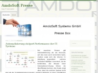 amdosoftnewsde.wordpress.com Webseite Vorschau