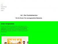 4cl-cocktailservice.de Webseite Vorschau