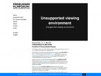 freiburger-filmforum.de Webseite Vorschau