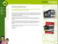 killercitybus.de Webseite Vorschau