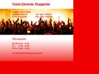 Ticket-zentrale-wuppertal.de
