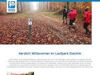 laufpark-stechlin.de