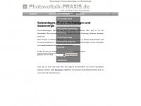 photovoltaik-praxis.de Webseite Vorschau