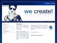 2feel.com Webseite Vorschau