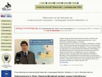 lo-nrw.de Webseite Vorschau