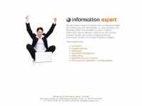 information-expert.de Webseite Vorschau