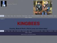kingbees.de Webseite Vorschau