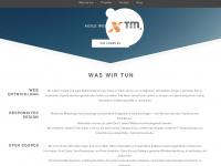 xtm.de Webseite Vorschau