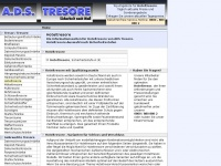 tresor-mannheim.de Webseite Vorschau