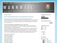 wannweil.blogspot.com Webseite Vorschau
