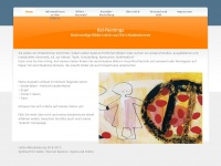 kid-paintings.com Webseite Vorschau