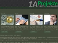 1aprojekte.com Webseite Vorschau