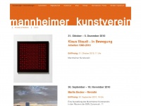 mannheimer-kunstverein.de