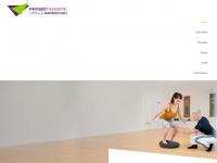 physiotherapie-handschuh.at Webseite Vorschau