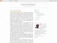 philosophie1.blogspot.com Webseite Vorschau