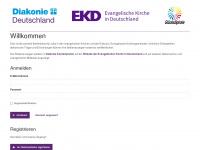 kirchen-diakonie-jobs.de Webseite Vorschau