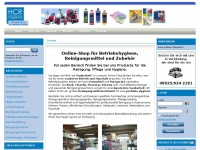 oberland-betriebshygiene.com Webseite Vorschau