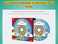 1a-kinderlieder.de Webseite Vorschau