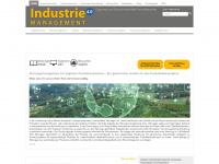 industrie-management.de Webseite Vorschau